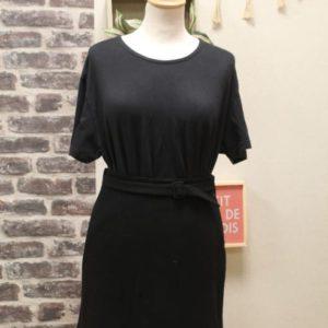 jupe vintage femme laine noire ceinture armani frip in shop