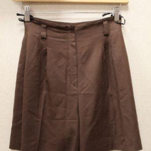 short vintage femme laine marron derriere frip in shop