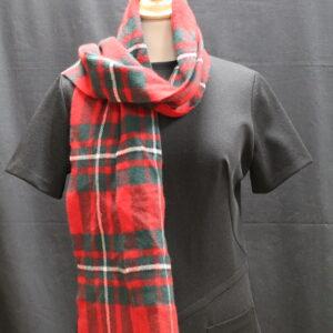 echapre tartan rouge frip in shop
