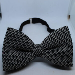noeud papillon vintage velours noir gris frip in shop