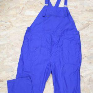 combinaison vintage unisexe bleu electrique mecanicien frip in shop