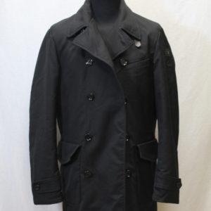 manteau vintage homme noir trussardi frip in shop