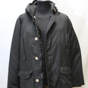manteau vintage noir woolrich frip in shop