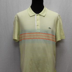polo sportswear jaune pale lacoste frip in shop