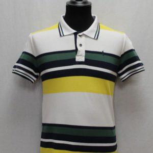 polo sportswear rayures blanches vertes bleues ralph lauren frip in shop
