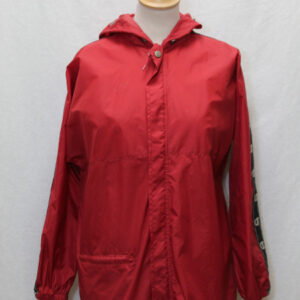 veste coupe vent sportswear rouge noir champion frip in shop