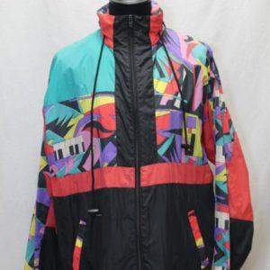 veste coupe vent unisexe noir motif graffiti homme frip in shop
