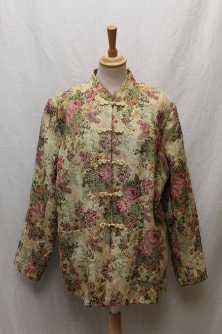 veste vintage japonisant a fleurs frip in shop