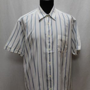 chemise a rayures blanches bleues hugo boss frip in shop