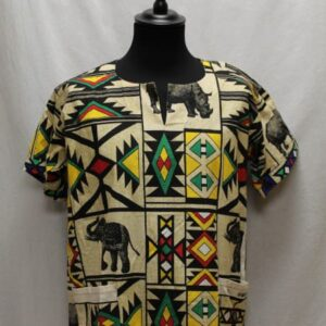 chemise africaine wax elephant frip in shop