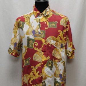 chemise vintage esprit versace frip in shop