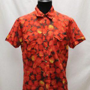 chemise vintage fruit rouge dolce gabbana frip in shop