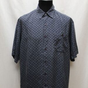 chemise vintage soie motifs frip in shop