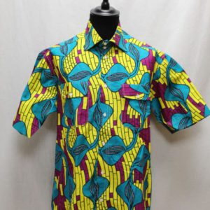 chemise wax africain frip in shop