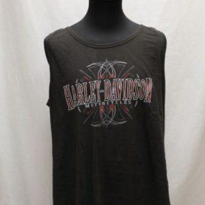 debardeur noir rock harley davidson frip in shop