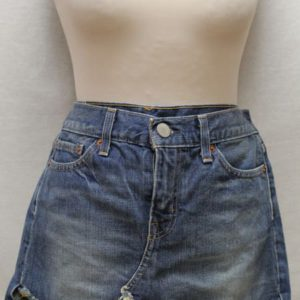 jupe vintage courte jean levis frip in shop
