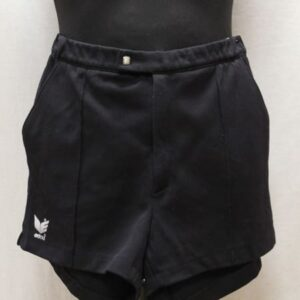 short court noir erima frip in shop