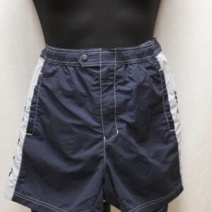 short sportswear bleu marine gris champion frip in shop