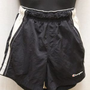 short sportswear noir gris champion frip in shop