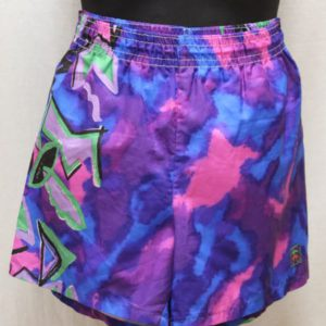 short vintage multicolore frip in shop