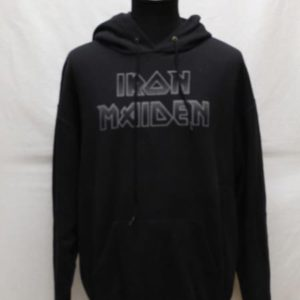 sweat a capuche noir iron maiden frip in shop
