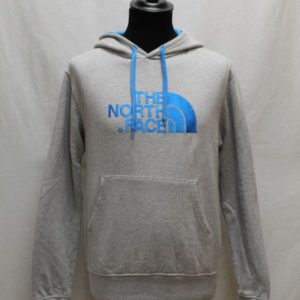 sweat capuche gris bleu turquoise the north face frip in shop