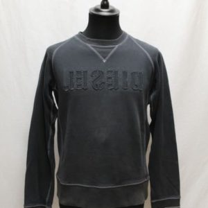 sweat noir diesel frip in shop
