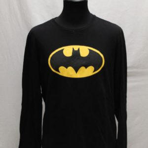 sweat noir jaune batman frip in shop