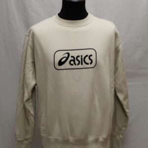 sweat sportswear beige asics frip in shop