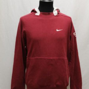 sweat sportswear capuche rouge bordeaux nike frip in shop