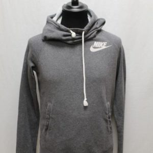 sweat sportswear gris col roule nike frip in shop