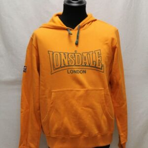 sweat sportswear orange kaki lonsdale frip in shop