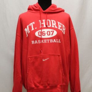 sweat sportswear rouge capuche nike frip in shop