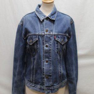 veste vintage femme jean levis frip in shop