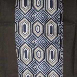 foulard vintage long losanges frip in shop