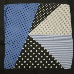 foulard vintage pois triangles frip in shop