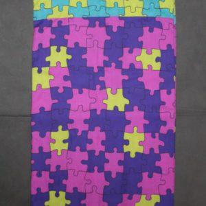 foulard vintage puzzle frip in shop