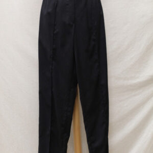 pantalon vintage a pinces bleu marine frip in shop