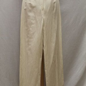 pantalon vintage pinces blanc ecru frip in shop