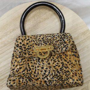 sac a main tissu imprime leopard frip in shop