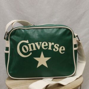 sac bandouliere vert blanc converse frip in shop