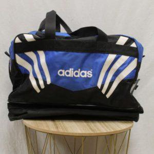 sac de sport noir bleu adidas frip in shop