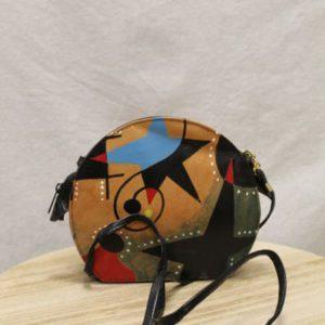 sac vintage artisanal peinture frip in shop