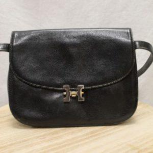 sac vintage noir pourchet frip in shop
