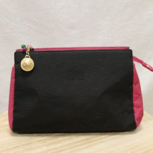 trousse noire rose gianni versace dos frip in shop