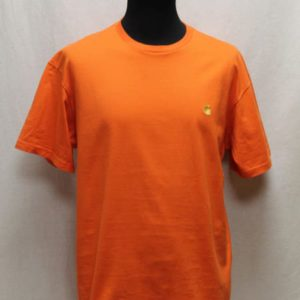 t-shirt orange carhartt frip in shop