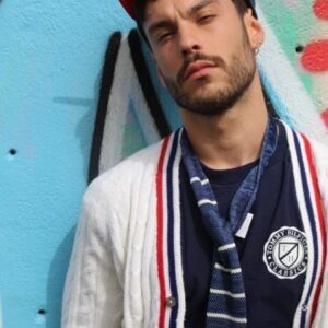 t-shirt sportswear bleu marine tommy hilfiger frip in shop