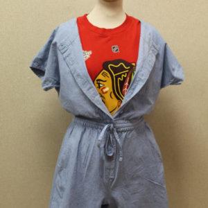 combi-short liocel vintage tenue frip in shop