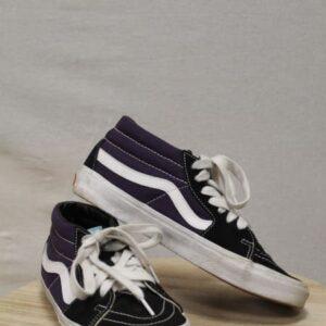 chaussures vans noir violet frip in shop