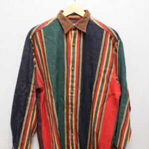 chemise hugo boss raye vert rouge jaune frip in shop